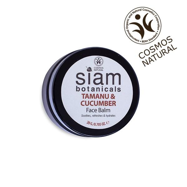 Siam Botanicals - Azjatycka maska do twarzy z tamanu i ogórka