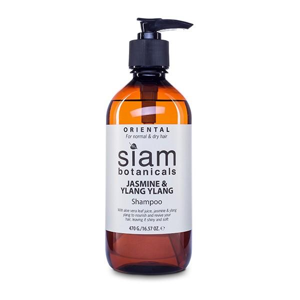 Orientalny szampon do włosów z ylang ylang i jaśminem – Oriental Shampoo with ylang ylang and jasmine