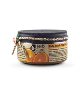 Azjatycki peeling do ciała z pomarańczą od marki Herb Care