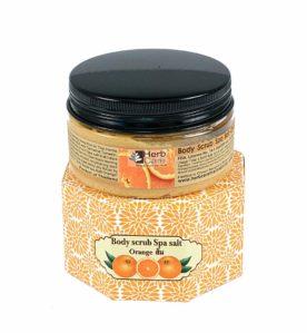Peeling do ciała z pomarańczą – Orange Body Scrub Spa Salt