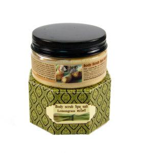 Peeling do ciała z trawą cytrynową – Lemongrass Body Scrub Spa Salt