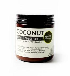 Odżywcza maska do włosów z serii kokosowej