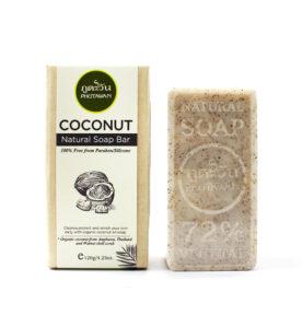 Naturalne mydło z serii kokosowej