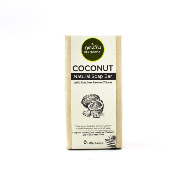 Naturalne mydło z serii kokosowej 1