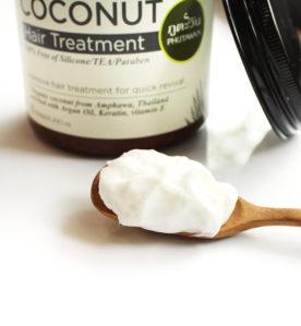 Odżywcza maska do włosów z serii kokosowej 1