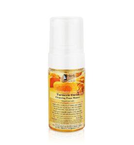 Pianka do mycia twarzy z kurkumą – Turmeric Facial Cleansing Foam Mousse